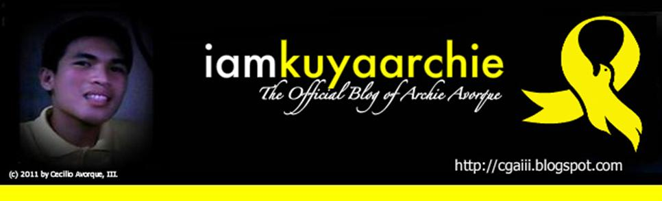 iamkuyaarchie | The Official Blog of Archie Avorque