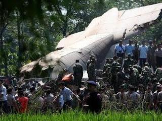 pesawat trigana jatuh