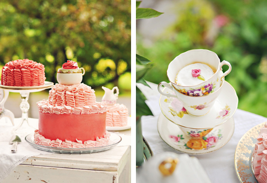 08a Picture Perfect Tea Party | Pretty Pink and Vintage Cups