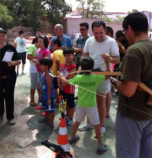 Club Tiro Arqueros Ribereños en Ontígola