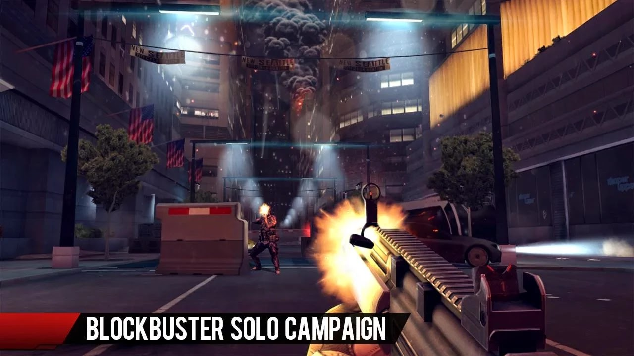 Screenshot Modern Combat 4: Zero Hour