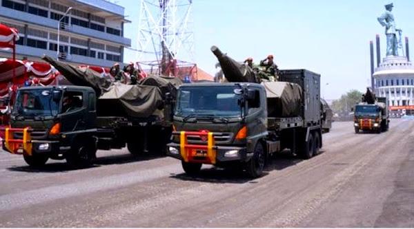 Armada Skyshield Gun Missile 35mm MK-2 TNI AU. PROKIMAL ONLINE Kotabumi Lampung Utara
