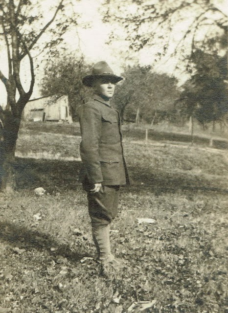 Roy Eberhard Delaware County Ohio WW1