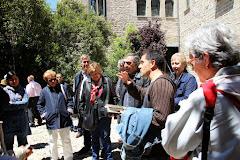 Visita al Monestir Sant Benet amb Martí Gironell