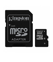 Kingston MicroSD 16 GB Class 10 Memory Card ( Combo of 3 ) at Rs. 261 only