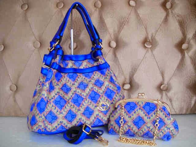 Tas Gucci 14207 (Blue)