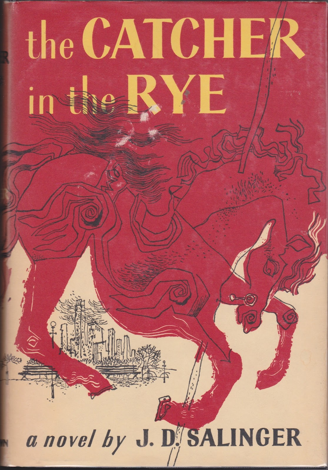 Book Rarities The Catcher In The Rye By Jd Salinger