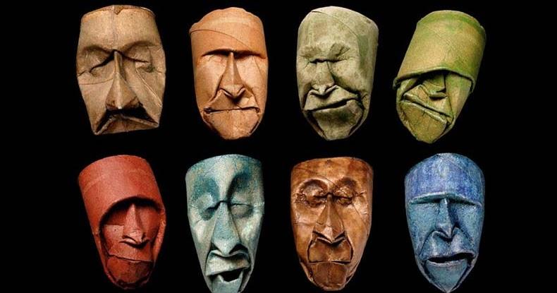 La máscara para los ojos con el óleo etérico