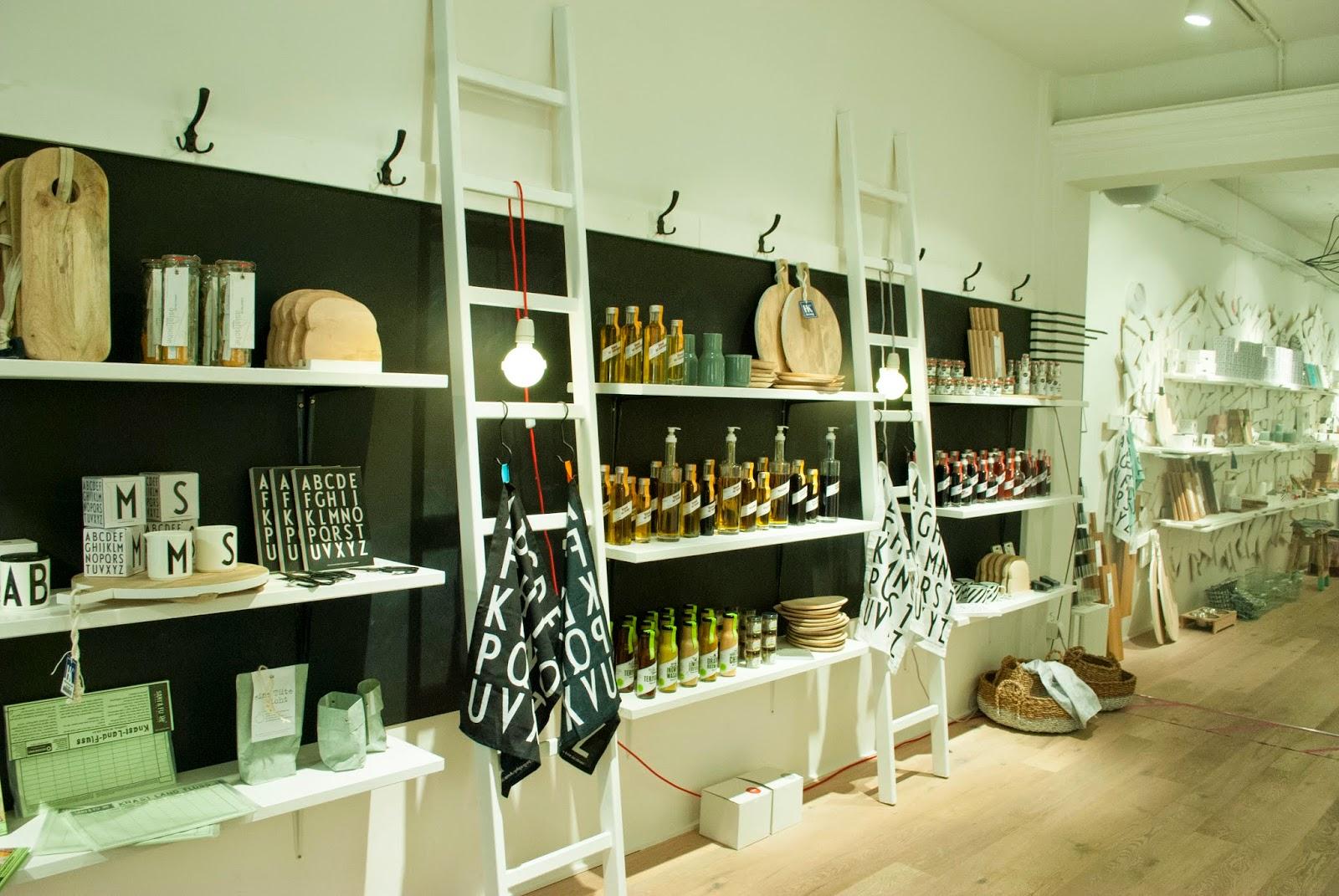 Minga-Liebe: Weißglut Concept Store München Munich Hohenzollernstraße Schwabing Interior Interieur Dekoration skandinavisches Design Hupsis Serendipity