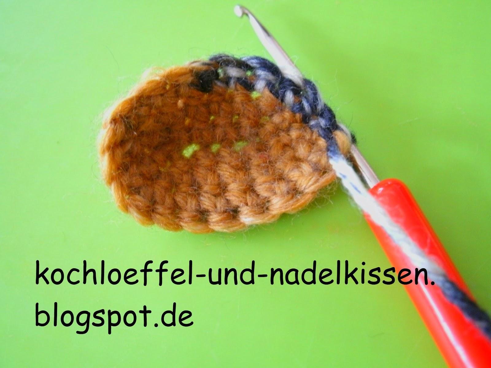 Kochloeffel Und Nadelkissen Häkelsöckchen Oder Gehäkelte Socken