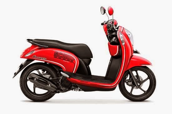 Honda Scoopy FI Sporty Estate Red