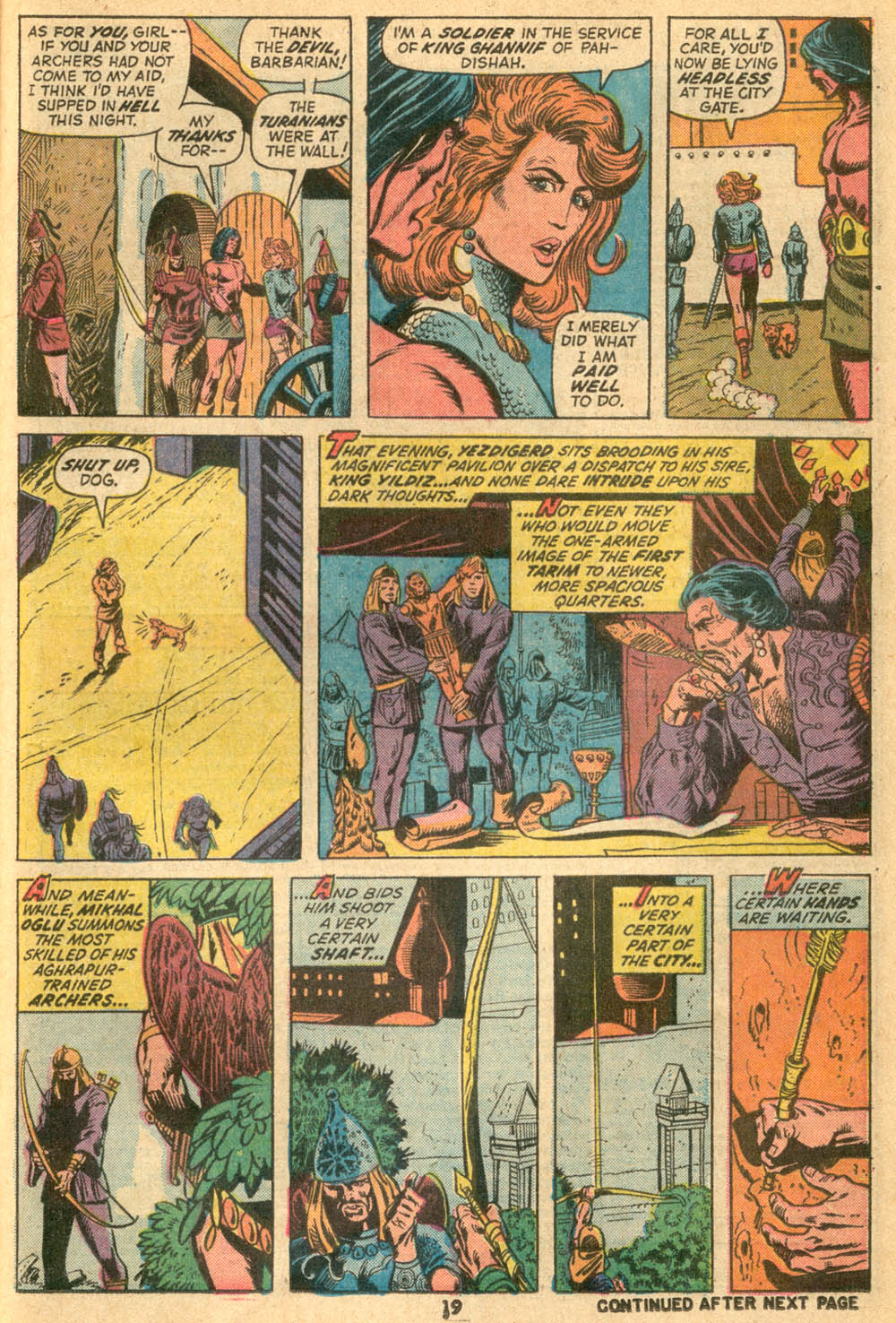 Conan the Barbarian (1970) Issue #23 #35 - English 14