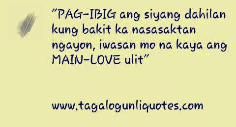 quotes love tagalog broken hearted images
