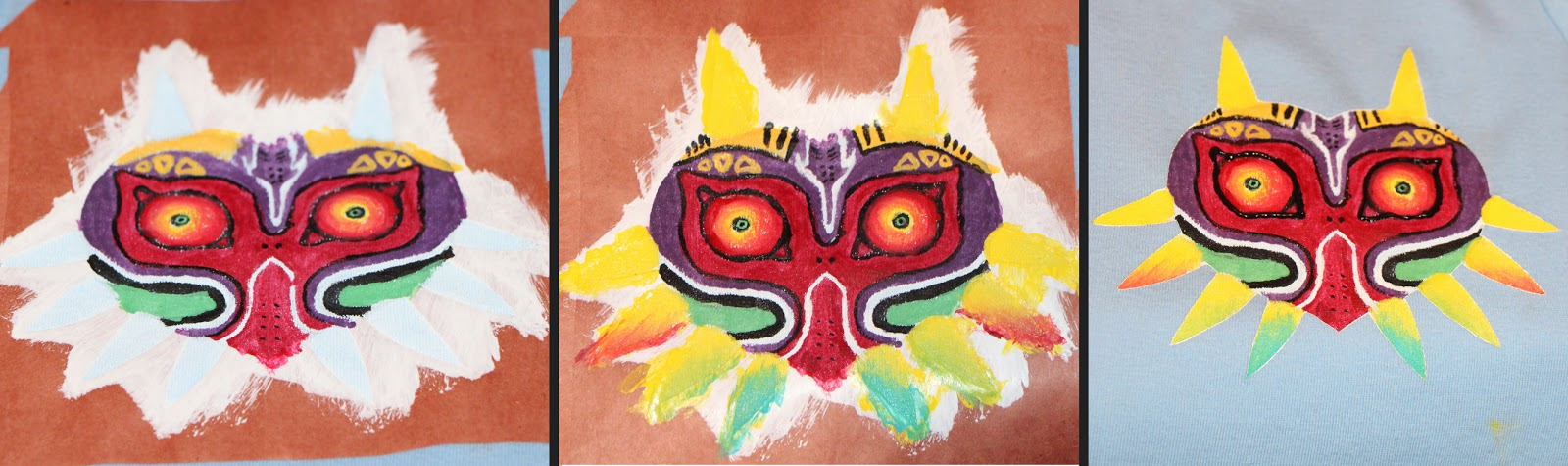 Majora's Mask Colouring