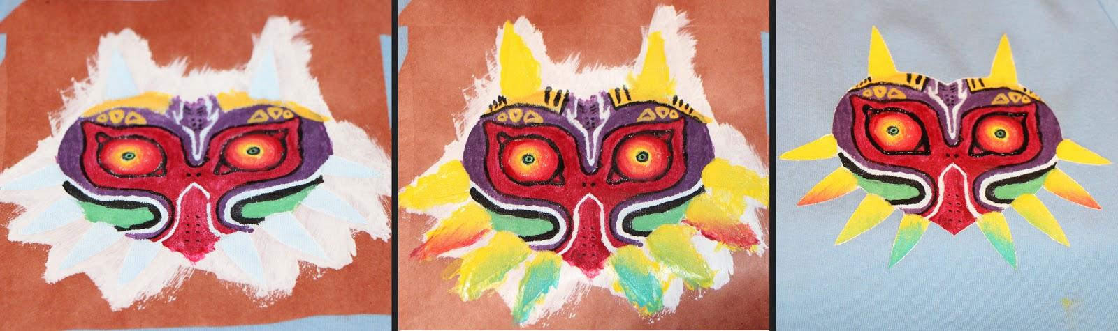 Majora's Mask Colouring