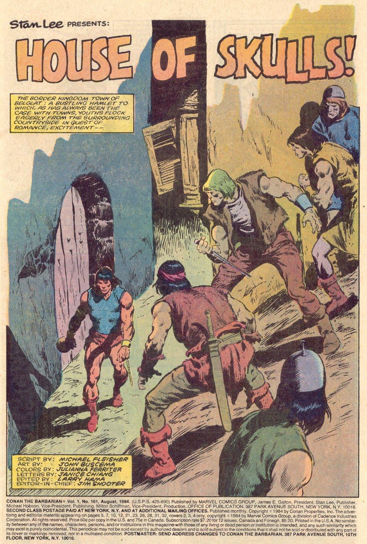 Conan the Barbarian (1970) Issue #161 #173 - English 2