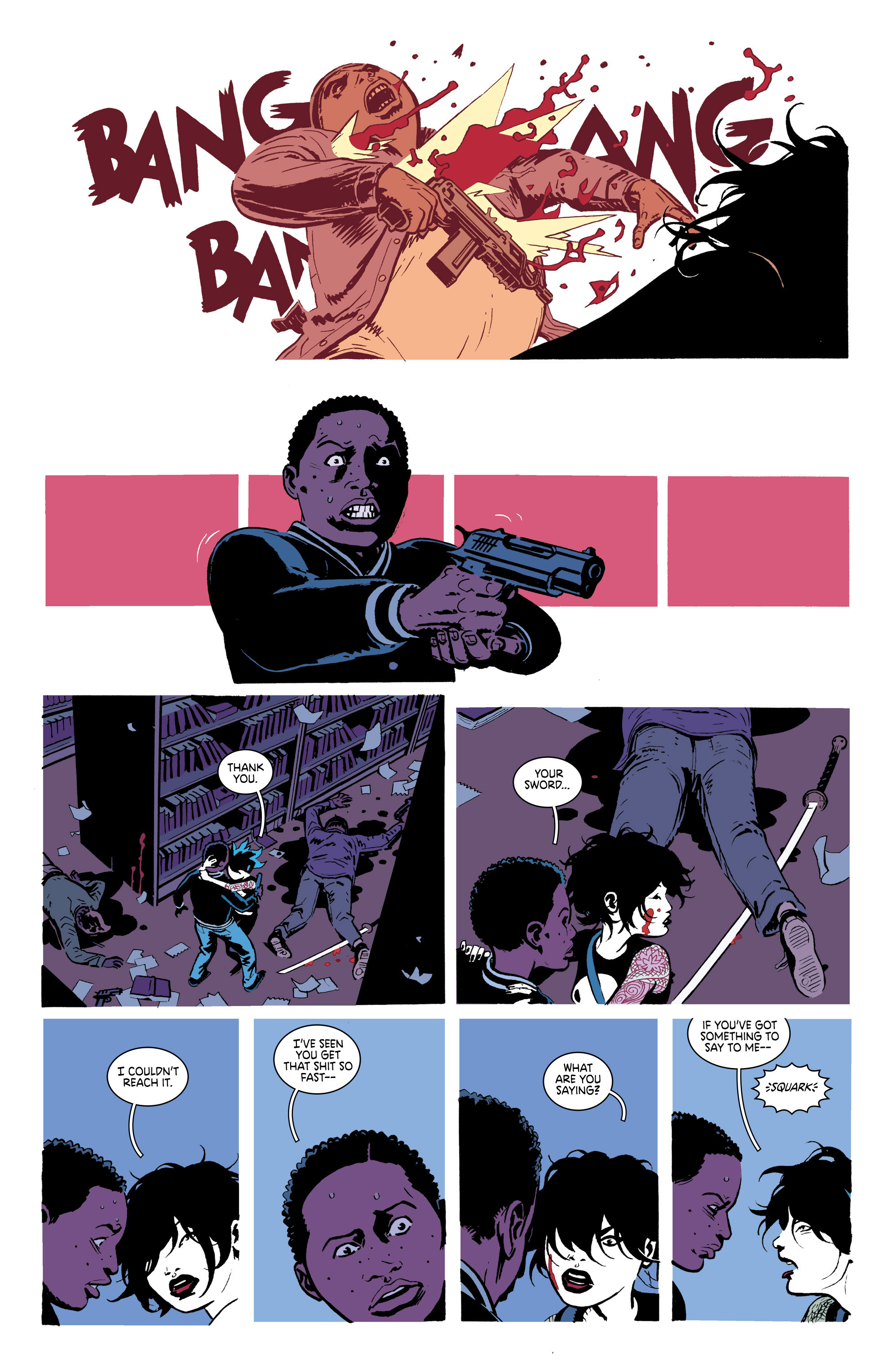 Read online Deadly Class comic -  Issue #18 - 20