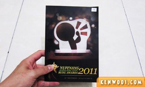 nuffnang blog awards 2011 booklet 1