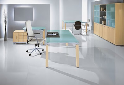 Modern Furniture Glass Office Desk