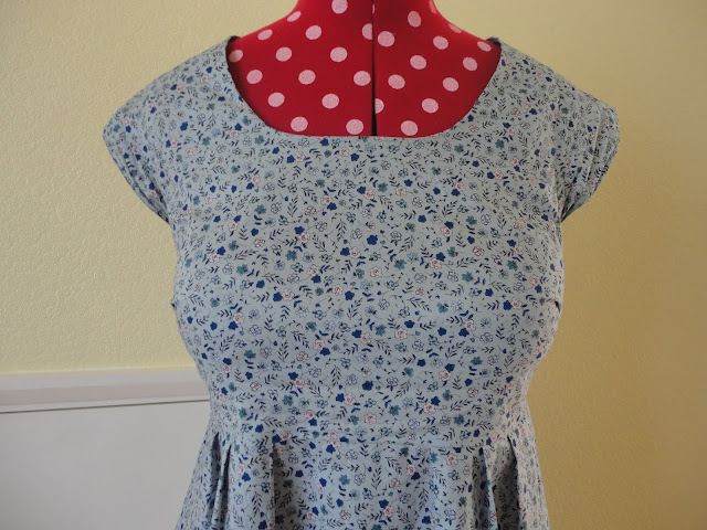 Bodice, Washi Dress, Made by Rae