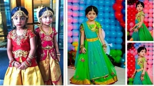 Cute Kidos in Shilpa Reddy Design