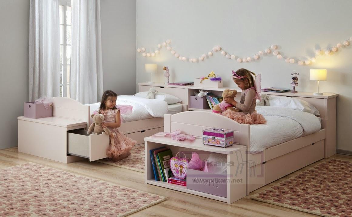 Dormitorios juveniles rosas for Distribucion habitacion juvenil