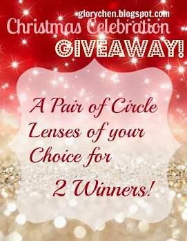Glory Chen's Blog CHRISTMAS Celebration Giveaway