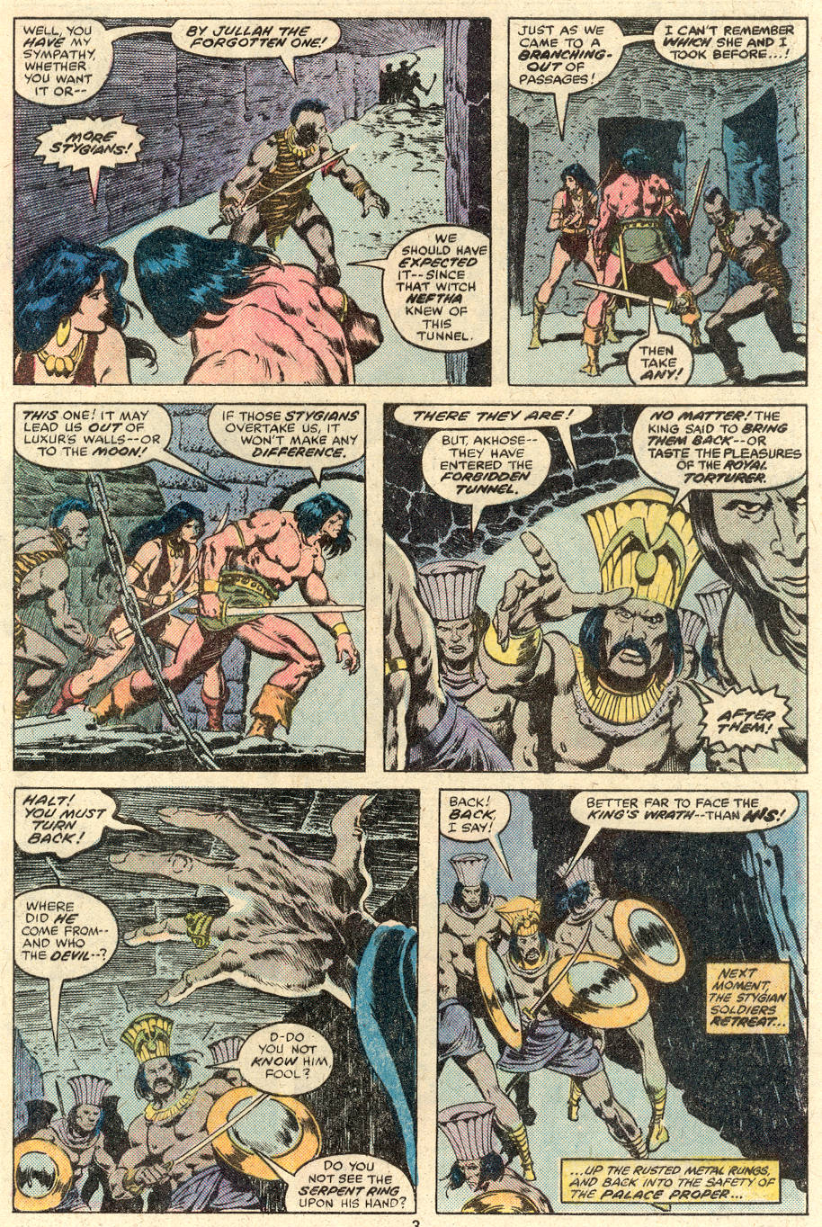 Conan the Barbarian (1970) Issue #89 #101 - English 4
