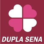 Trevo 4 folhas roxo da Dupla Sena, fonte Caixa Econômica Federal