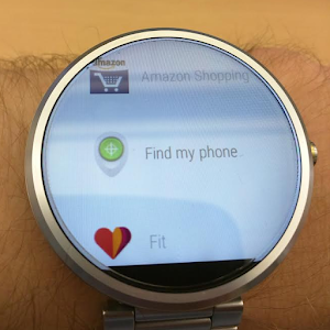 Find My Phone on Android Wear