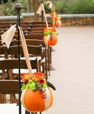 Festive Fall Decor: Gilded Pumpkins Gourds