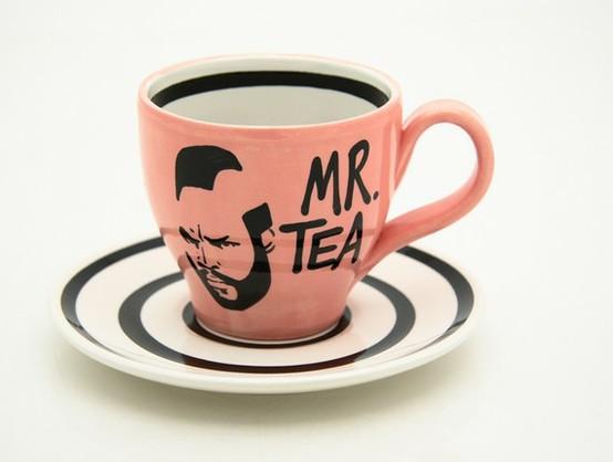 Mr. T - teacup