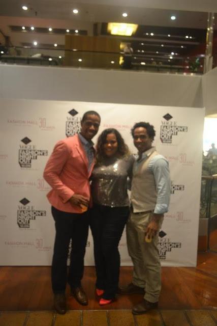 fno+com+os+Blacks Carão, Bicão e Cabelão no Vogue FNO no Fashion Mall!!
