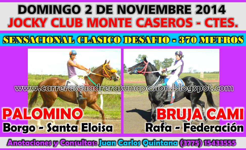 MONTE CASEROS - 02.11.2014
