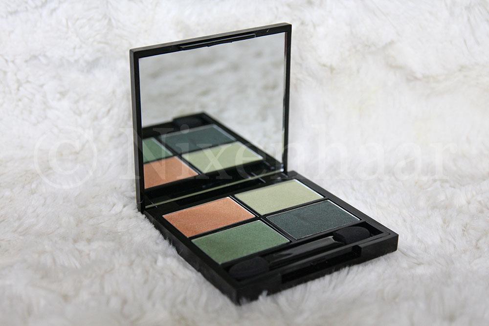 Zuii Organic Eyeshadow Palette Quattro Breeze.