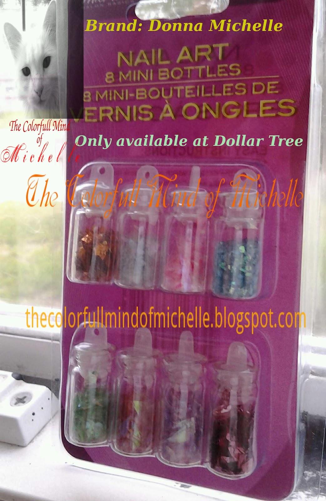 Mind Of Michelle Donna Michelle Nail Art Haul At Dollar Tree