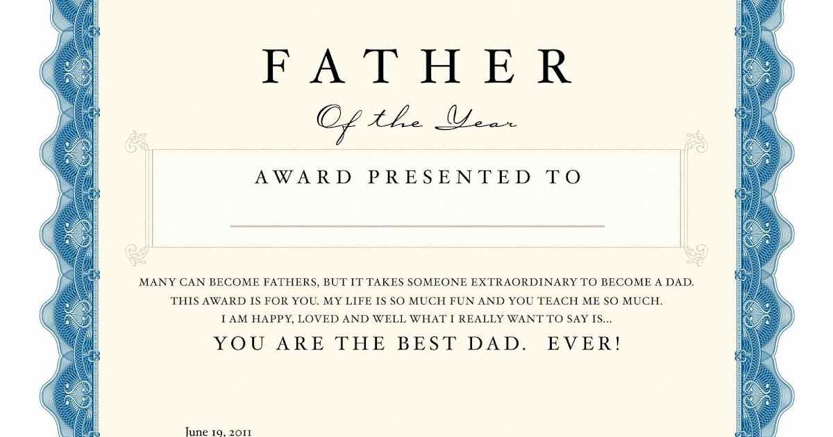 free printable father s day award the shower diva s party tips