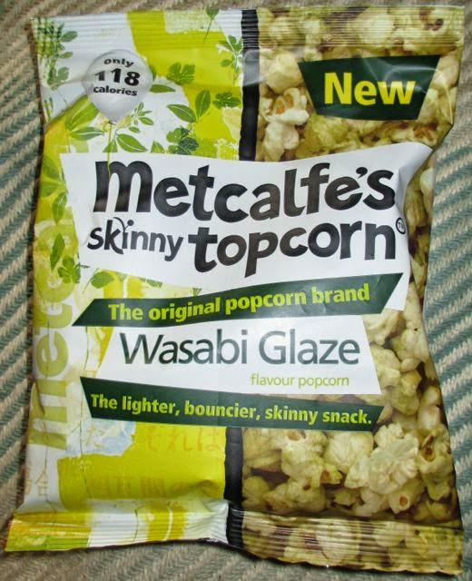 FOODSTUFF FINDS Wasabi Glaze Popcorn (@MetcalfesSkinny #TopCornTribe) [By @S # Wasbak Glas_232716