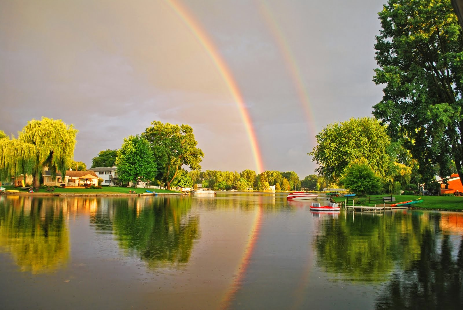 Cedar Island Rainbow