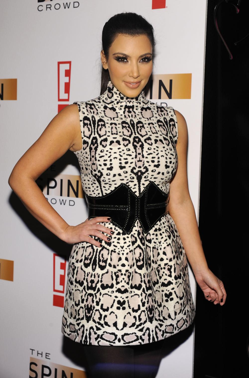 Kim Kardashian Ponytail Hair 07
