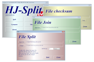 Download Gratis HjSplit Terbaru, Software Penggabung Part File