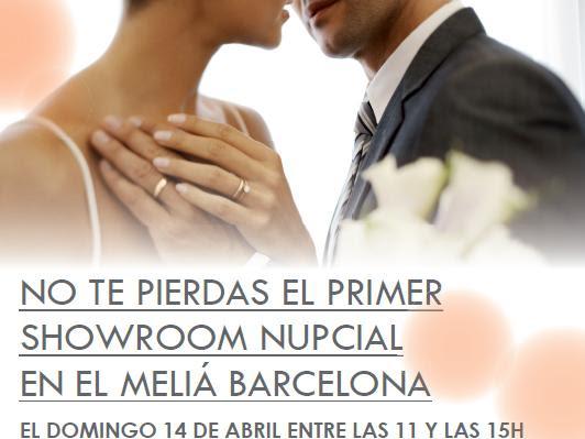 Showroom Nupcial de Melia Barcelona ¡con sorteo de Fin de Semana!