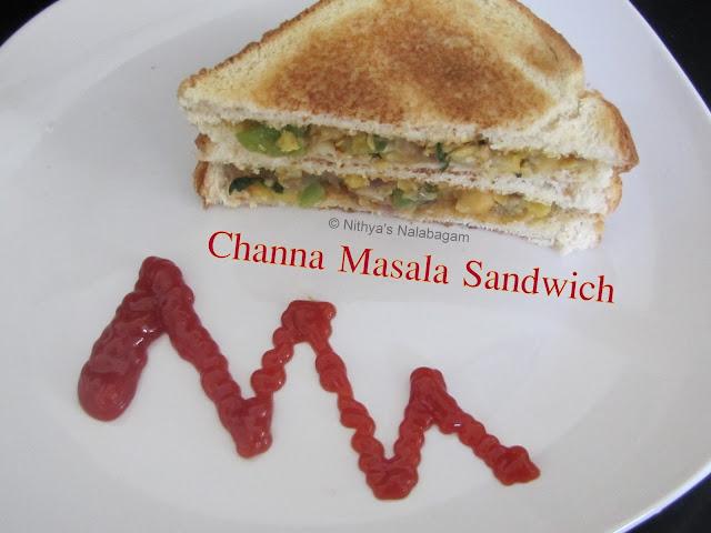 Chickpeas Sandwich