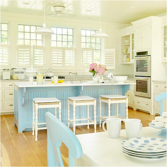 Cottage kitchen ideas room design inspirations for Cottage style kitchen design