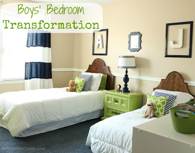 Boys' Bedroom Transformation