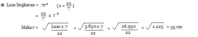Menentukan Unsur Lingkaran   Mathever