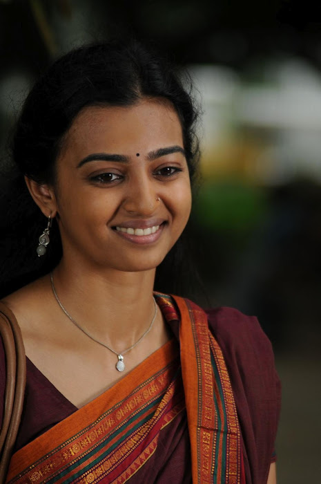 Radhika Apte in Saree Cute beauty