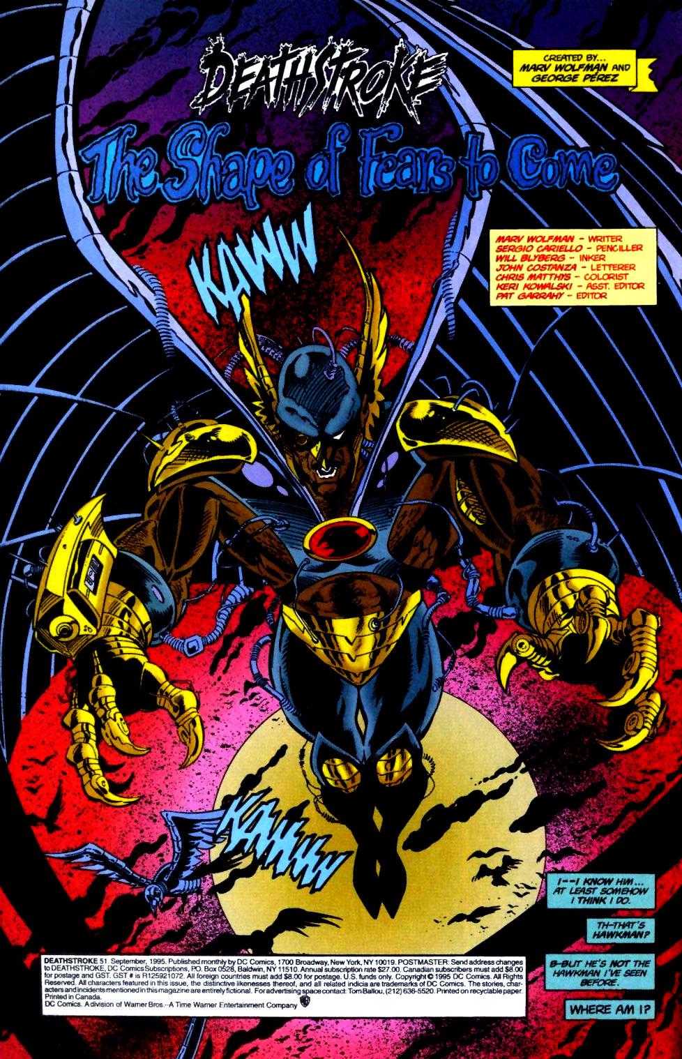 Deathstroke (1991) Issue #51 #56 - English 5