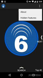 Listen to HQ radio channels online with Music Radio 6 seconds (Download now)