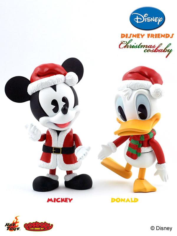 Christmas Toys Disney : Mini cosbaby hot toys disney friends christmas